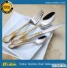 不锈钢刀叉 广州 义乌热销款 不锈钢西式餐具 六支一钉卡